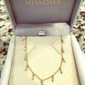 Missoma Mini Fang Necklace